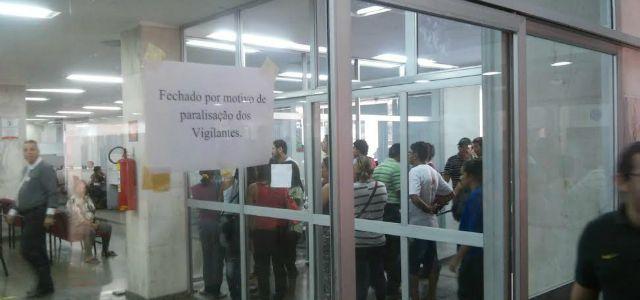 GREVE DOS VIGILANTES - DIVULGAÇÃO SINDICATO