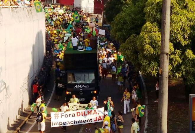 Protesto Djalma Batista