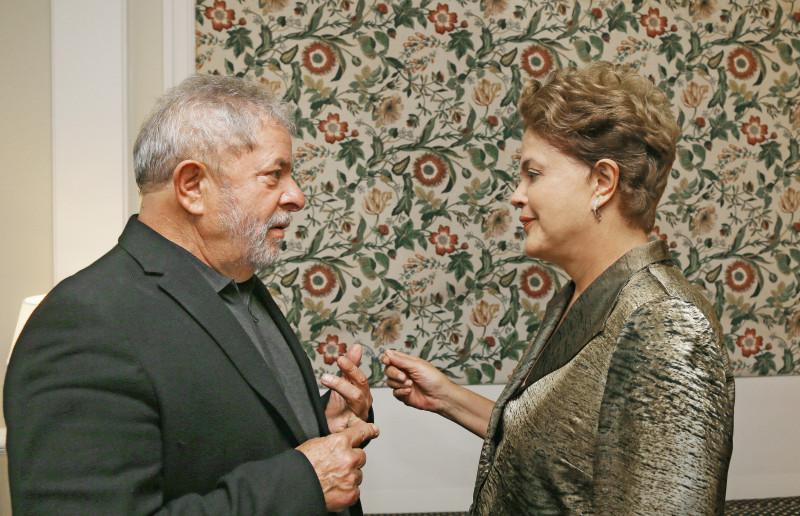 Lula se mostrou otimista e destacou a importância da parceria com o presidente do Senado, Renan Calheiros (Foto: Ricardo Stuckert/ Instituto Lula)