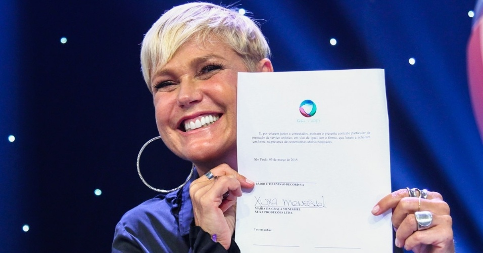 Xuxa na Record FotoRioNews