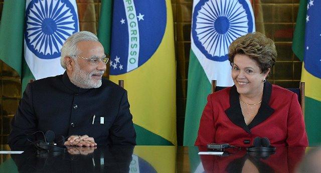 Brasil India Foto Reprodução