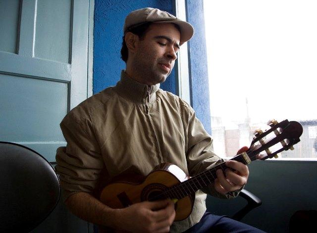 Compositor Rodrigo Campos Foto Divulgação