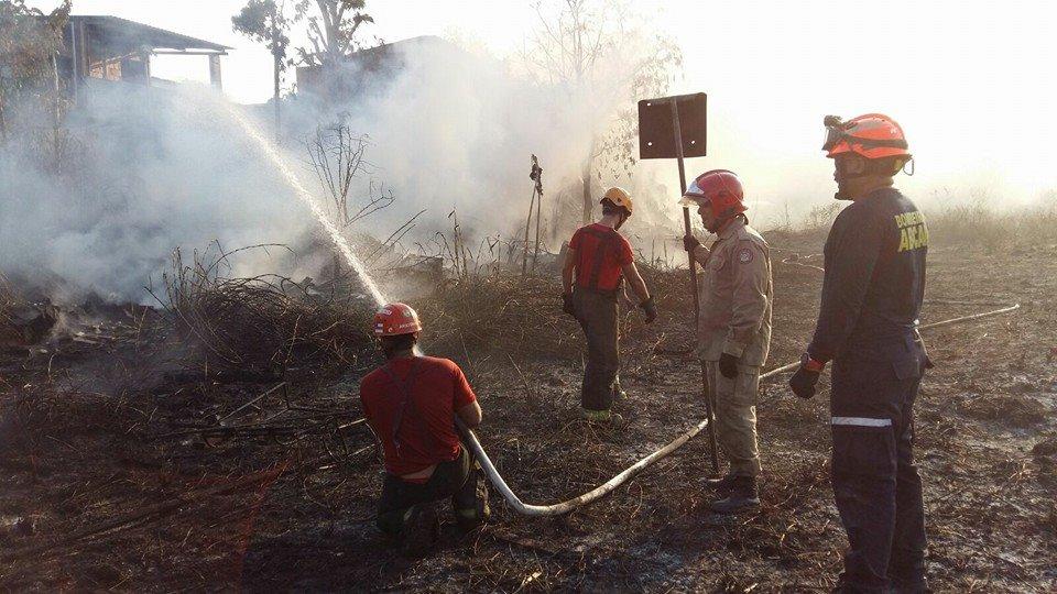 Corpo de Bombeiros Amazonas Foto reprodução Facebook