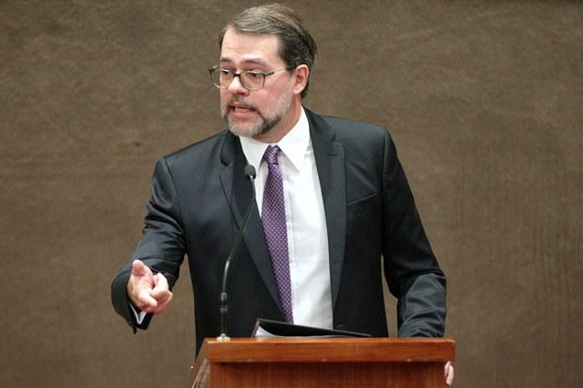 Ministro Dias Toffoli, presidente do TSE durante Seminário Reforma Política no TSE. Brasília-DF, 10/09/2015 Foto: Roberto Jayme/ASICS/TSE