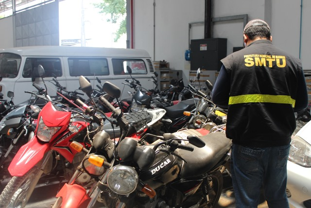 Operação conjunta resulta na apreensão de 15 motos que realizavam o serviço de mototáxi irregularmente