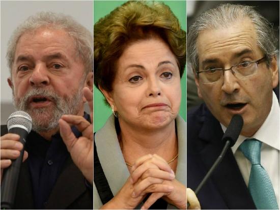 Lula Dilma Cunha