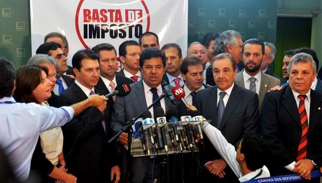 Oposição Congresso Foto Nilson Bastian Câmara dos Deputados