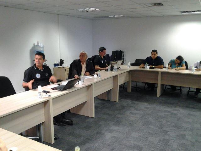 Reunião SSP e sindicato sobre postos de gasolina Foto Lindemberg Cavalcante Divulgação SSP