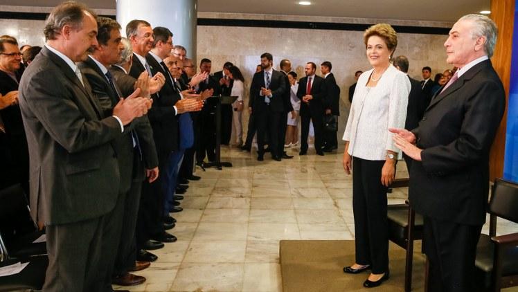 Dilma anuncia reforma ministerial Foto Roberto Stuckert Filho PR