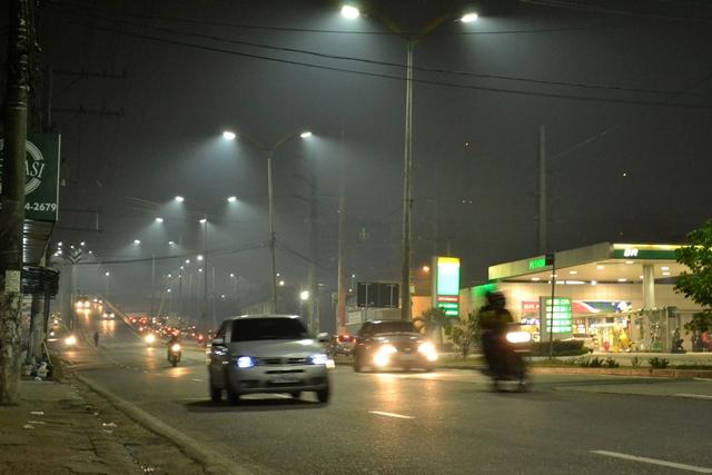 Fumaca noturna Manaus 4