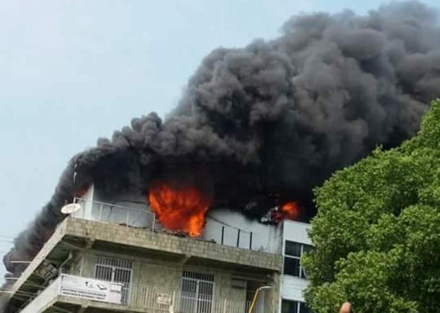 Incendio Centro 4