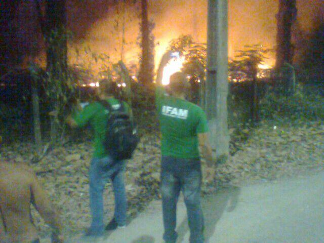 Incendio Ifam