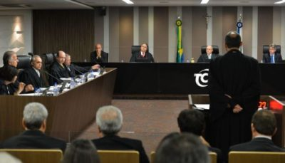 Brasília - Sessão do TCU analisa contas do governo de 2014 (Valter Campanato/Agência Brasil)