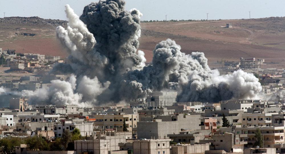 Rússia bombardeia Síria Foto Reproduçãp