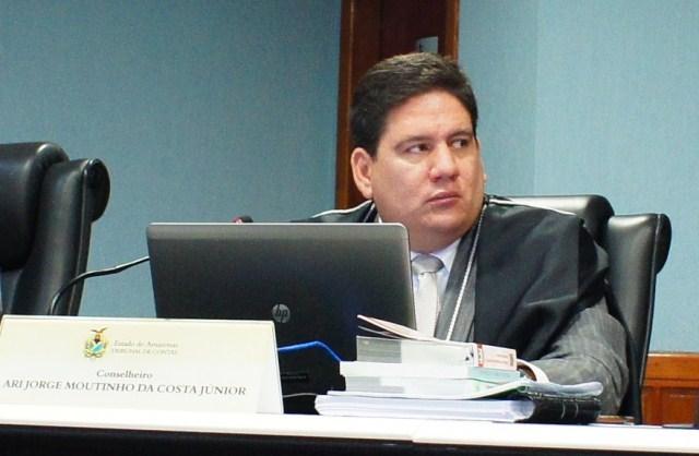 O conselheiro Ari Moutinho Júnior apontou uma série de irregularidades nas contas do Cetam (Foto: TCE/Divulgação)