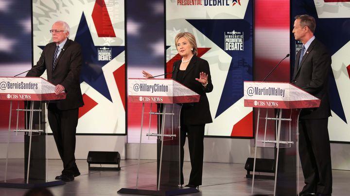 Debate Democratas EUA Foto Reprodução