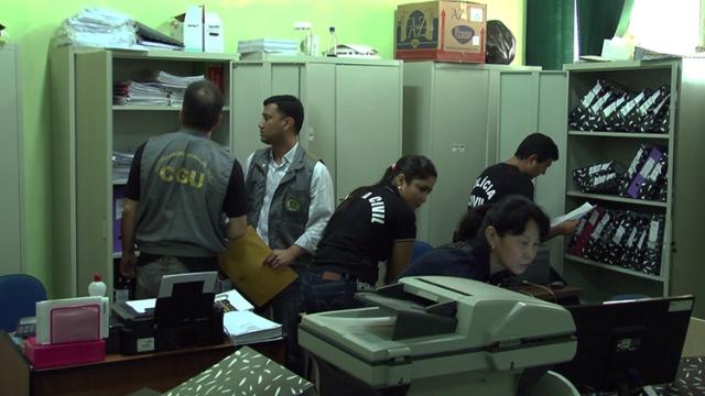 Operação da semana passada na Prefeitura de Iranduba resultou na prisão do prefeito Xinaik Medeiros (Foto: MP-AM/Divulgação)