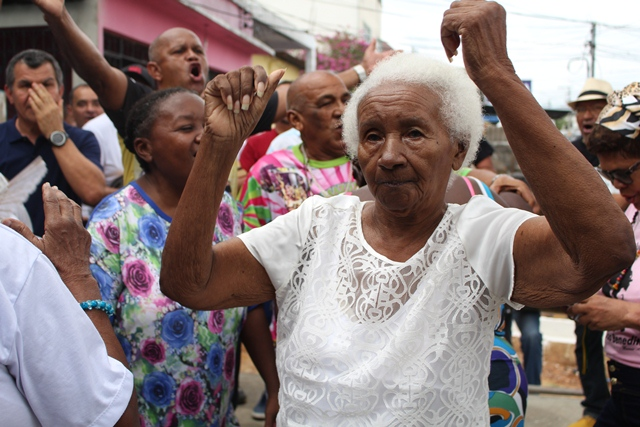 Festa no Quilombo de São Benedito