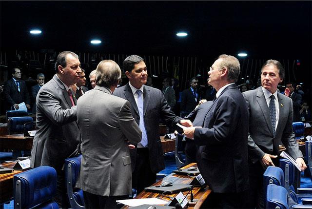 Senadores mantiveram a decisão do STF de prisão do senador Delcídio Amaral (Foto: Jonas Pereira/Agência Senado)