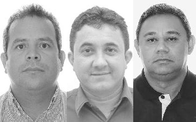 Antônio Alves Filho, Amtônio Gerlande e Roberto Bandeira