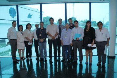 Reunião da Comissão de Ciência e Tecnologia na sede do CBA (Foto: Divulgação)