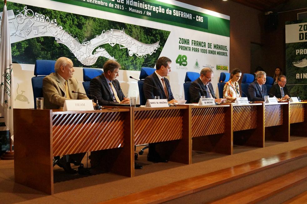 Conselho de administração da Suframa Foto Marcio Gallo Suframa