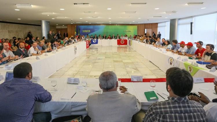Dilma líderes Frente Brasil Roberto Stuckert PR