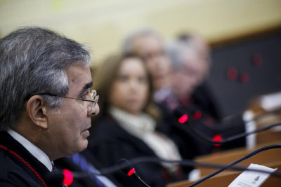 Flavio Pascarelli sai fortalecido para a eleição de presidente do TJAM em 2016 (Foto: Raphael Alves/TJAM)