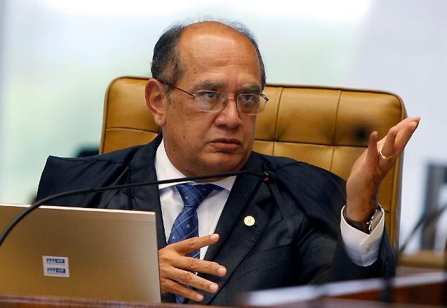 O presidente do TSE abriu simbolicamente a votação hoje em uma escola pública do Rio de Janeiro (Foto: Nelson Jr./STF)
