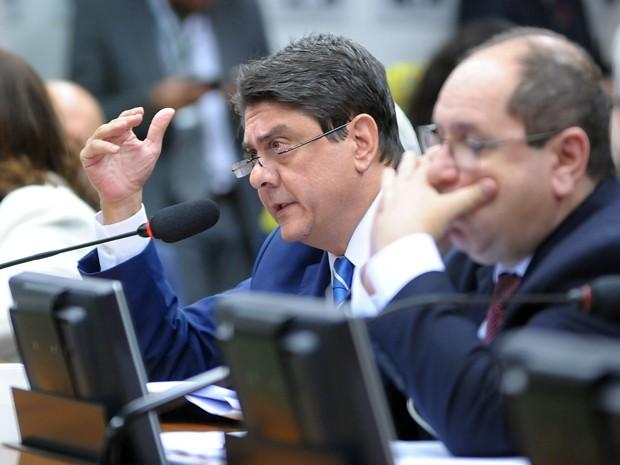 O deputado Wadih Damous PT-RJ em sessão da CCJ (Foto Alex FerreiraCâmara dos Deputados