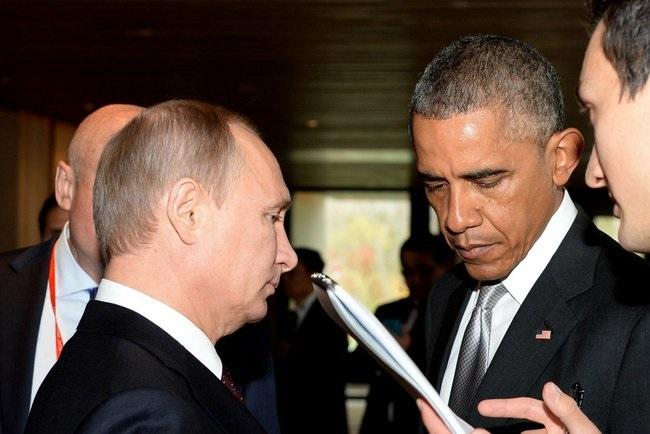Obama e Putin se reunem em Pequim Foto The Presidential Press and Information Office