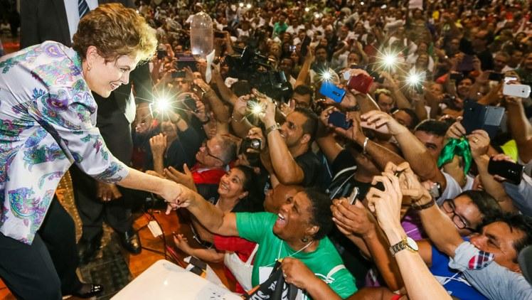 Presidenta Dilma Rousseff durante 15ª Conferência Nacional de Saúde Roberto Stuckert PR