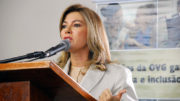 Primeira-dama Valéria Perillo é presidente da OVG (Foto: Ângela Scalon)