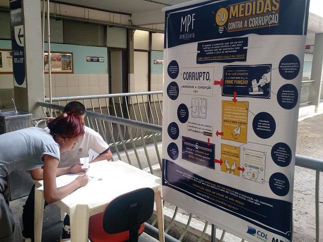 campanha 10 medidas contra a corrupção foto divulgação