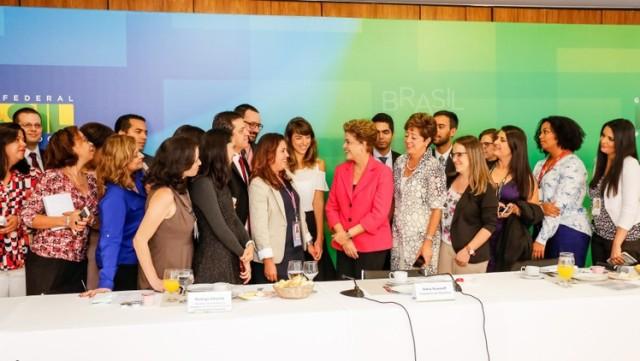 Dilma Jornalistas Ichiro Guerra PR