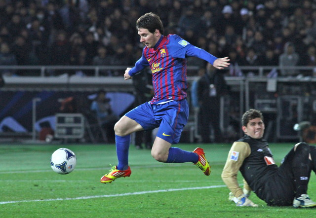 Lionel Messi Foto Christopher JohnsonFlickr Commons