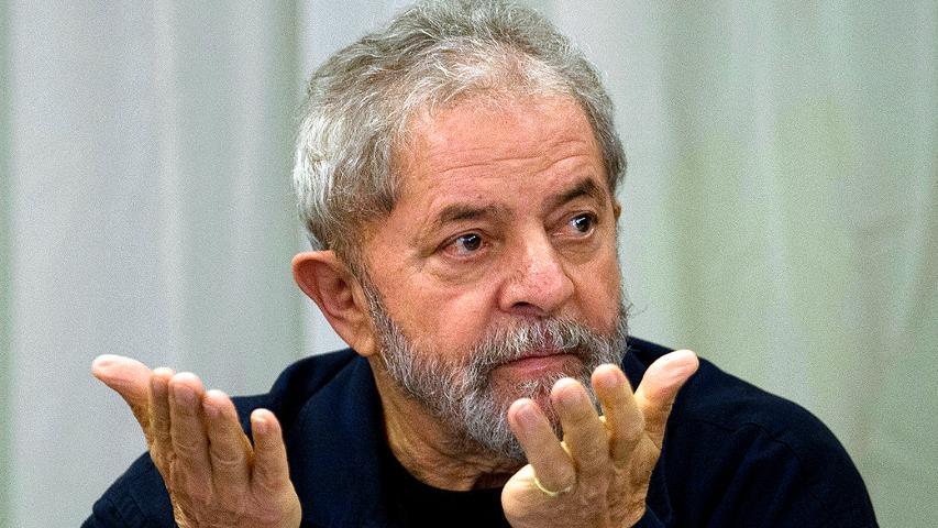 Lula dá entrevista a blogueiros Foto Captura de tela