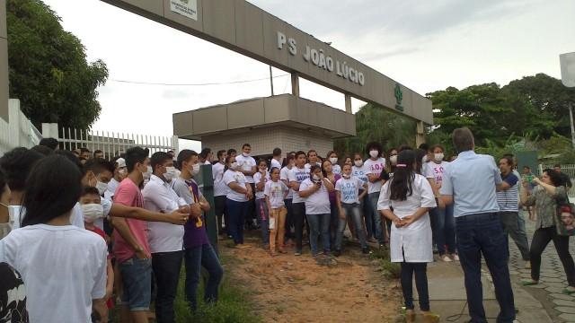 Manifestação João Lúcio