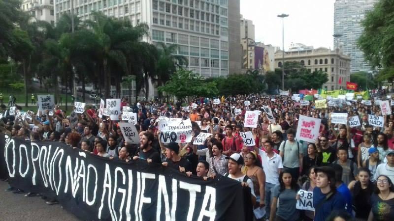 Manifestação São Paulo Foto Jornalistas Livres 4