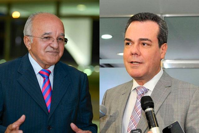José Melo e Henrique Oliveira ficam no cargo pelo menos até o julgamento dos embargos de declaração (Fotos: Divulgação)
