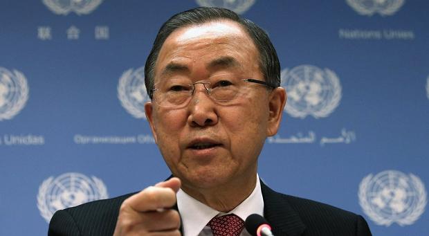 ONU ban-ki-moon Foto Divulgação