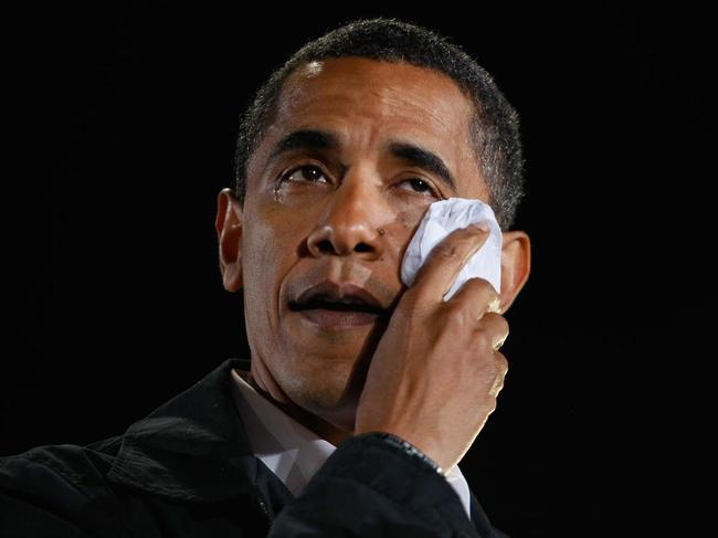 Obama anuncia controle de armas e se emociona Foto Divulgação