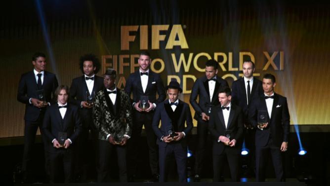 Seleção da Fifa 2016 Foto Divulgação