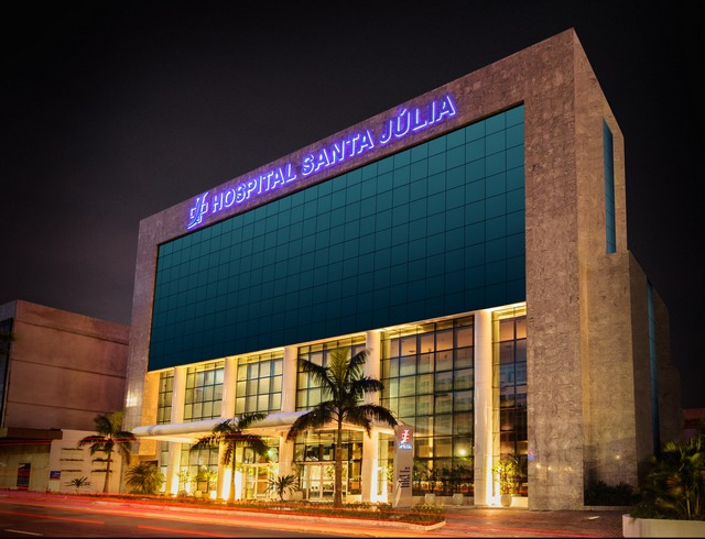 Sta Julia-fachada noturna Foto Divulgação