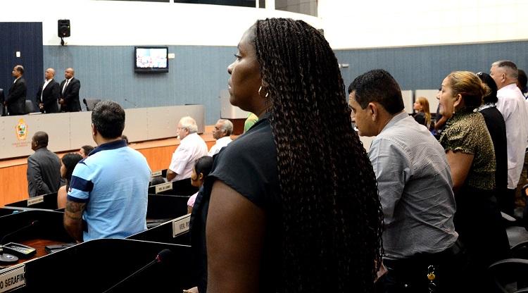 MANAUS, 18/11/13PROJETO DE LEI DO VEREADOR EDNAILSON ROZENHA (PSDB) PREVE COTAS  RACIAIS PARA INGRESSO DE NEGROS EM CONCURSO PUBLICO MUNICIPAL.FOTO: ROBERVALDO ROCHA / CMM