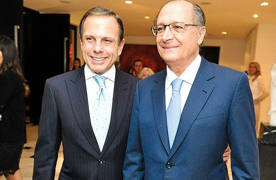 Alckmin e Doria Foto Divulgação