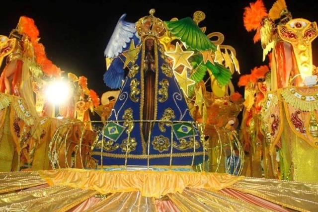 Aparecida dividiu o título deste ano com a Reino Unido da Liberdade, ambas da zona sul de Manaus (Foto: Cleomir Santos/Click Cidade)