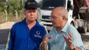 Arthur e Melo: união para recuperar ruas de Manaus (Foto: Divulgação/Semcom)