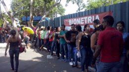 Biometria TRE fila
