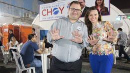 Choy e Adriana 1